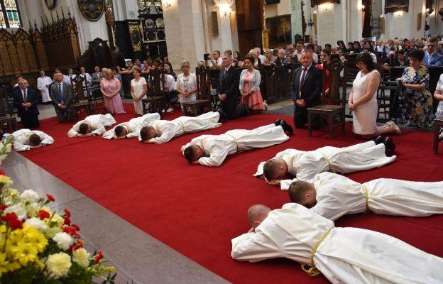 Diecezja toruńska ma ośmiu nowych diakonów