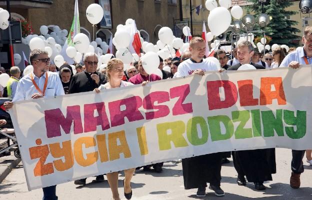 Zdjęcie archiwalne /Marsz dla Życia i Rodziny - Żywiec 2019