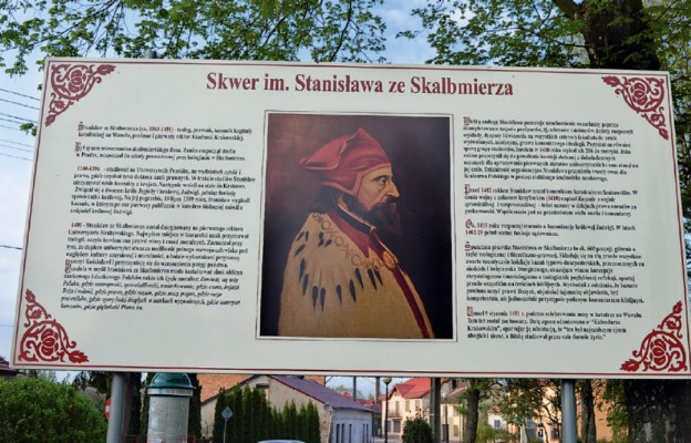 Rektor Stanisław rozsławił Skalbmierz