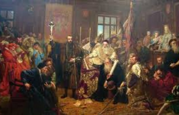 Unia Lubelska (obraz Jana Matejki)