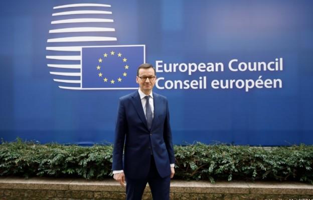 Premier Mateusz Morawiecki przybył do Brukseli na szczyt UE