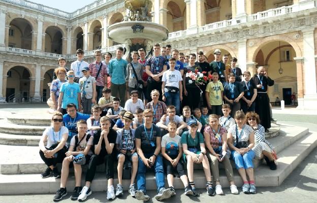 Ministranci w Rzymie