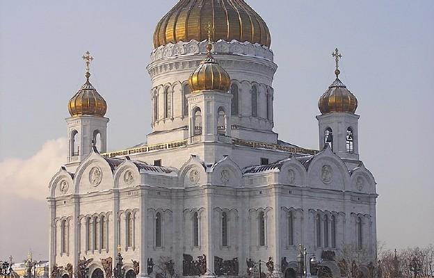 Sobór Chrystusa Zbawiciela w Moskwie, wysadzony w powietrze przez władze sowieckie w 1931 r., odtworzony i rekonsekrowany w 2000 r.