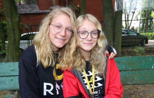 Siostry Emilia i Natalia Chrzanowskie