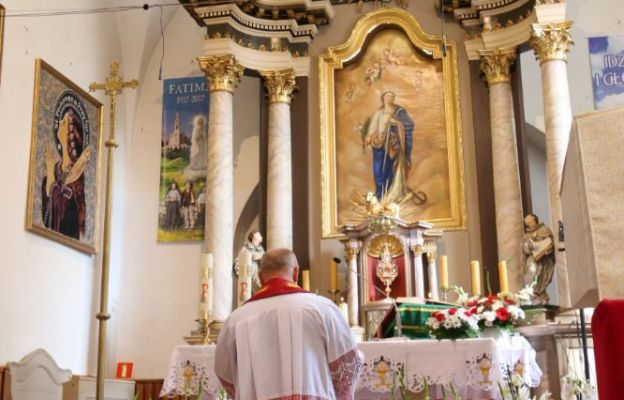 Święta Filomena w Gniechowicach - parafia ze świętą od zadań specjalnych