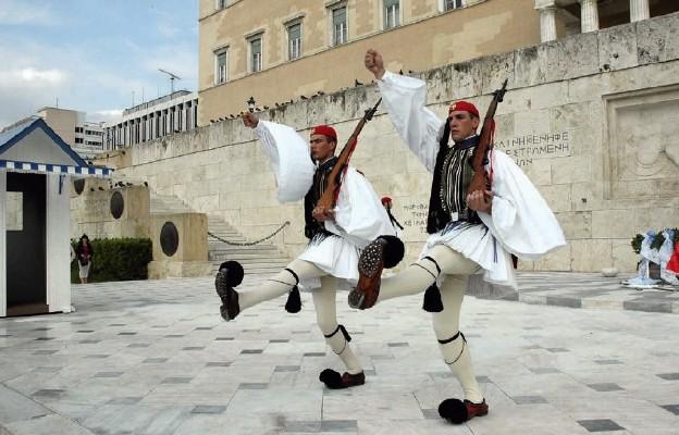 Spacer z Ateną