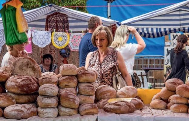 Tradycyjnie wypiekany chleb