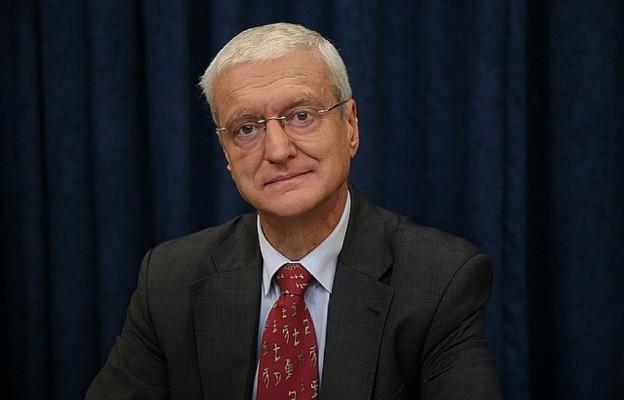 Prof. Michał Kleiber były prezes Polskiej Akademii Nauk