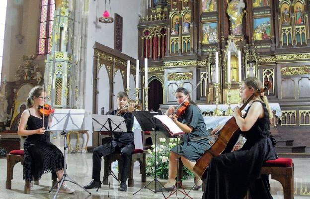 Letni koncert w bazylice strzegomskiej
