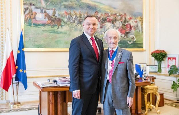 Edward Mosberg przyleciał z USA do Warszawy, by wziąć udział w obchodach 80. rocznicy wybuchu drugiej wojny światowej