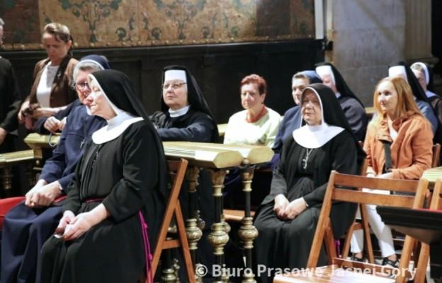 Siostry pielęgniarki podczas Dni Skupienia na Jasnej Górze