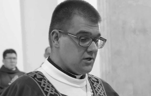 diakon Mateusz Niemiec z diacezji sandomierskiej