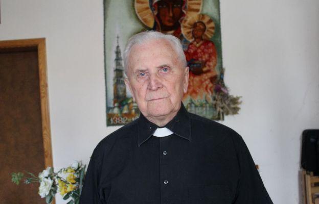 Ks. prał. Jerzy Nowaczyk obecnie mieszka w Domu Księży Emerytów w Zielonej Górze