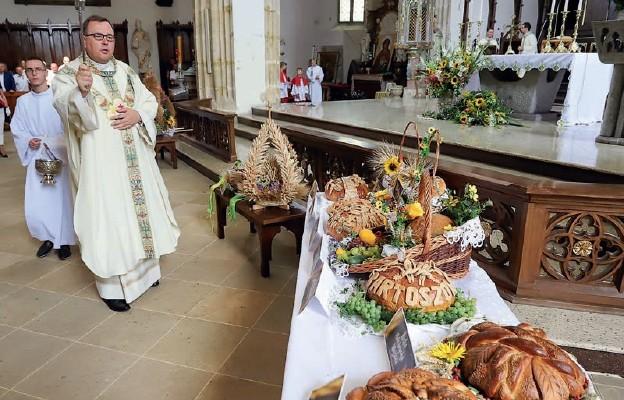 Msza św. dziękczynna za tegoroczne plony