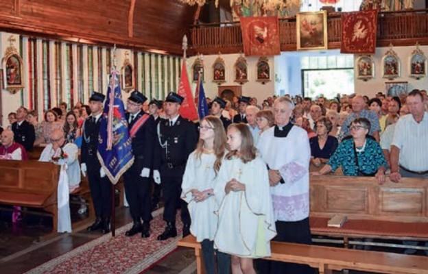 Jubileusz parafii Kąty