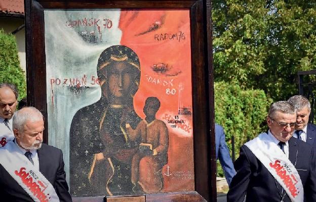 Zakończenie peregrynacji obrazu Matki Bożej Robotników Solidarności