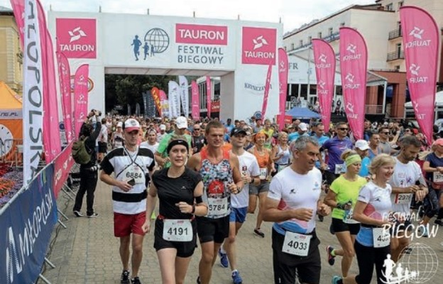 Cała polska biega w Krynicy