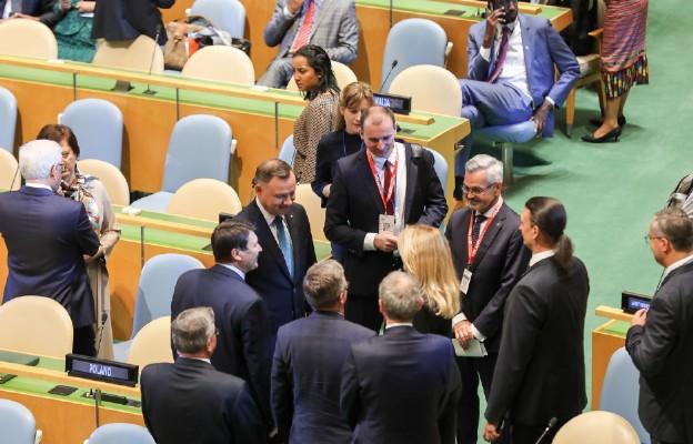 Nowy Jork | Siedziba ONZ. Inauguracja Szczytu Klimatycznego