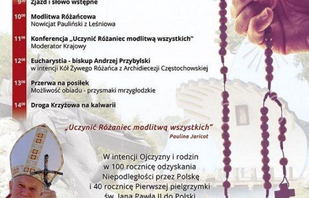 Pielgrzymka Żywego Różańca Archidiecezji Częstochowskiej