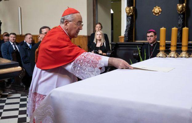Uroczystość nadania tytułu Bazyliki Mniejszej Piotrkowskiej Farze