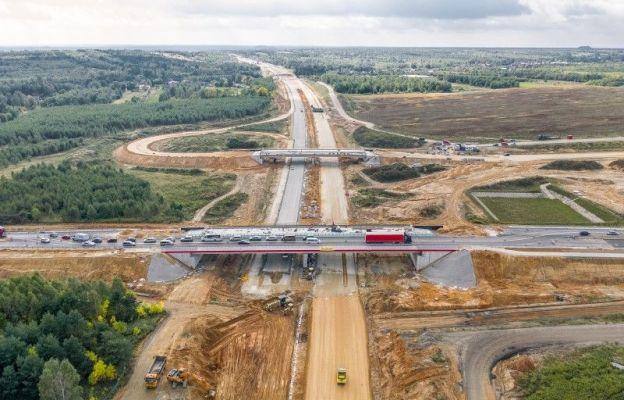 Pierwszy wiadukt na węźle A1 Częstochowa Jasna Góra jest przejezdny
