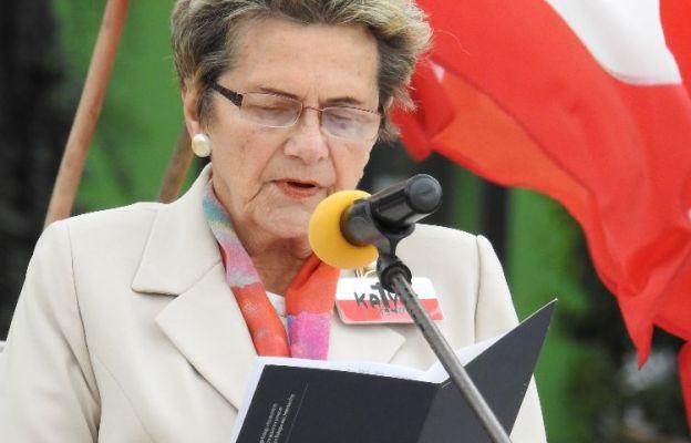 Danuta Malon, prezes lubelskiej Rodziny Katyńskiej