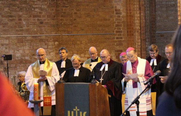 Wspólne polsko-niemieckie nabożeństwo ekumeniczne w Kościele Pokoju we Frankfurcie nad Odrą