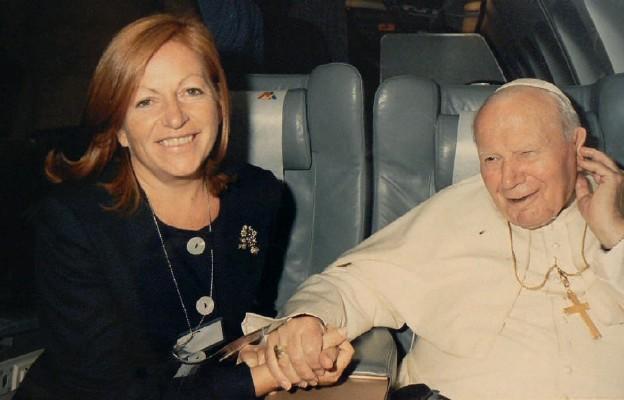 Dziennikarka Jana Pawła II