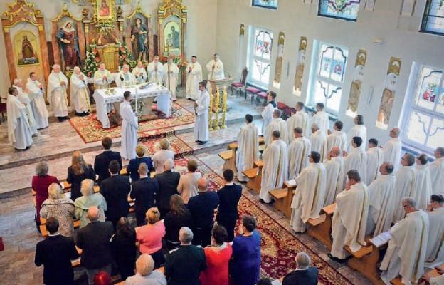 Uroczyste Gaudeamus w legnickim Seminarium Duchownym