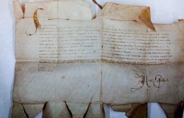 Niezwykły list w łódzkich archiwach