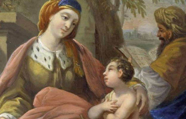 Zachariasz i Elżbieta, rodzice Jana Chrzciciela