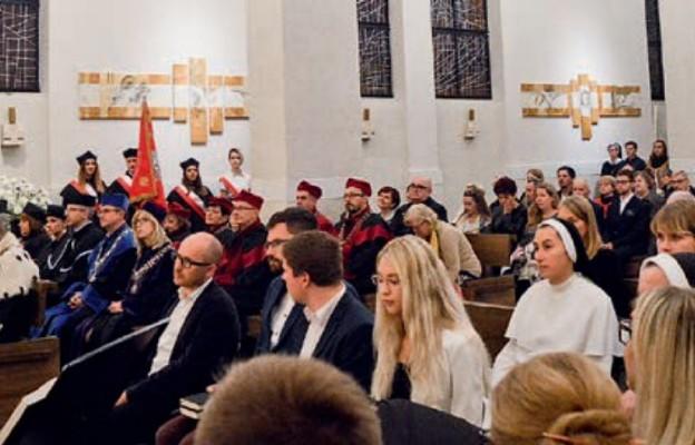 Środowisko akademickie w kościele Jana Pawła II