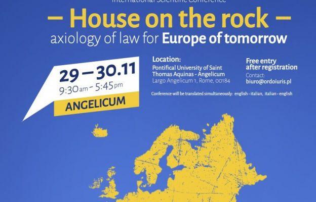 Konferencja: Ordo Iuris i Uniwersytet Angelicum o wartościach w prawie