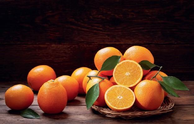 Rozsypane pomarańcze