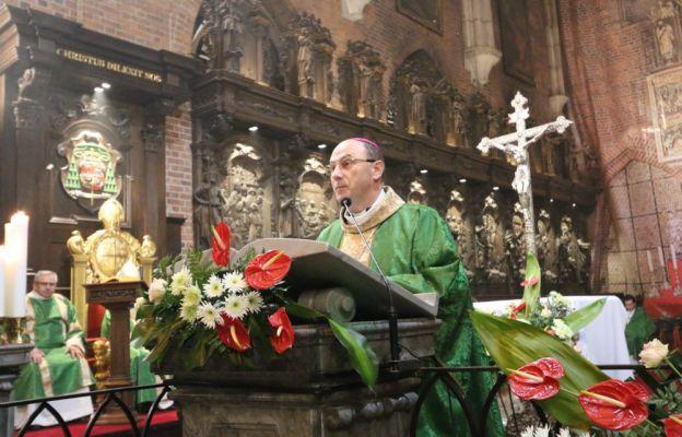 Homilię wygłosił abp Wojciech Polak, prymas Polski