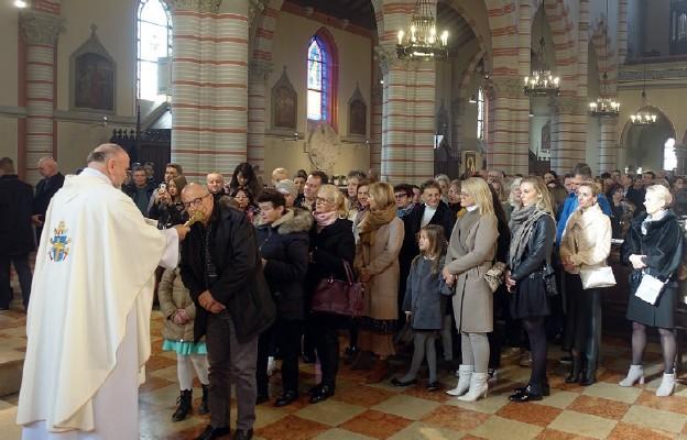Nowy parafianin w znaku relikwii