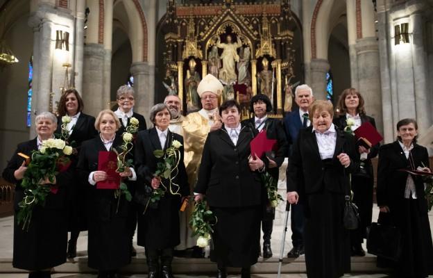 Łódź: Konsekracja dziesięciu Wdów i Wdowca