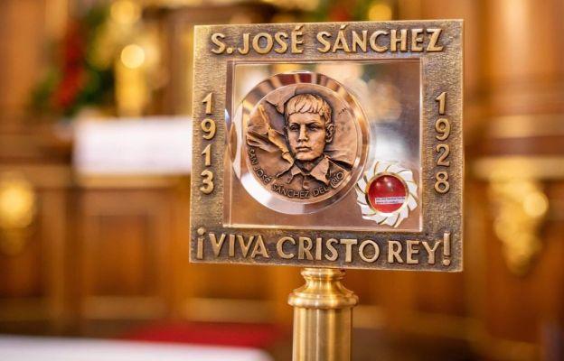 Warszawa: relikwie św. José Sáncheza del Río w kościele św. Antoniego z Padwy