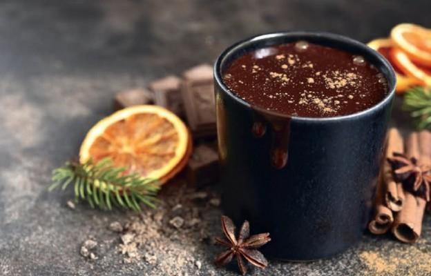 Gorąca czekolada z pomarańczą