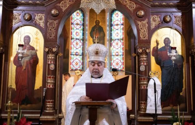 ks. mitrat Eugeniusz Fiedorczuk, proboszcz prawosławnej parafii św. Aleksandra Newskiego w Łodzi