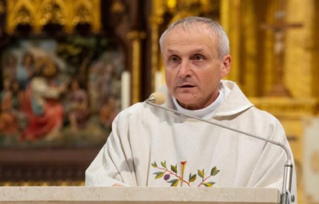 ks. dr Sławomir Sosnowski - rektor Wyższego Seminarium Duchownego w Łodzi.
