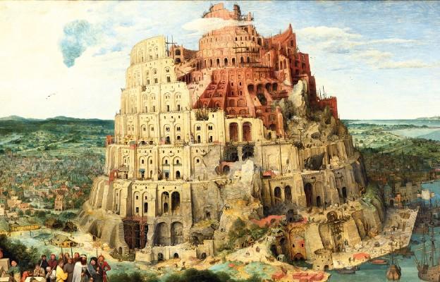 Wieża Babel symbol podziału