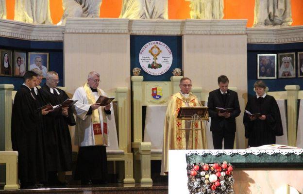 Nabożeństwo ekumeniczne w parafii Ducha Świętego w Zielonej Górze