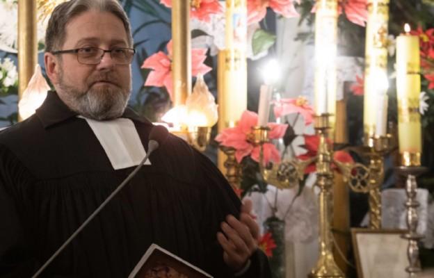 ks. Semko Koroza, pastor Kościoła Ewangelicko – Reformowanego i przewodniczący łódzkiego oddziału Polskiej Rady Ekumenicznej