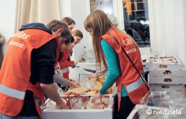 Pomaganie jest pasją wolontariuszy