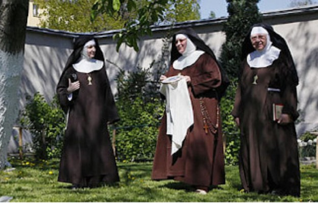 Klaryski z klasztoru w Kętach