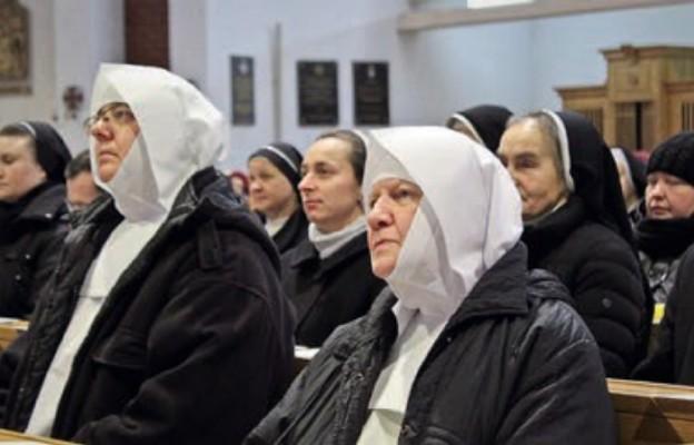 Na doroczną Mszę św. przybyły siostry z wielu zgromadzeń