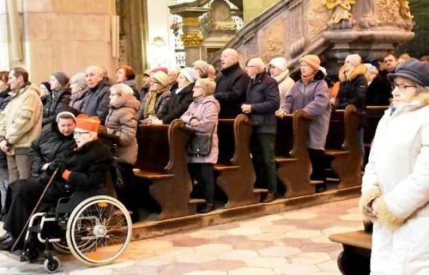 """Katedra stała się """"gospodą"""" Dobrego Samarytanina"""