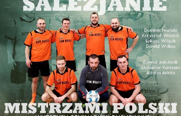 Salezjanie mistrzami Polski!