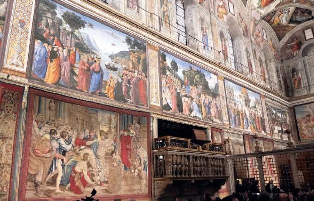 Dzieje Apostolskie w Sykstynie